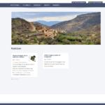 Nueva imagen de la web de Nogueruelas